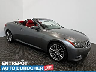 Used 2011 Infiniti G37 Convertible DÉCAPOTABLE - NAVIGATION - AIR CLIMATISÉ- CUIR for sale in Laval, QC