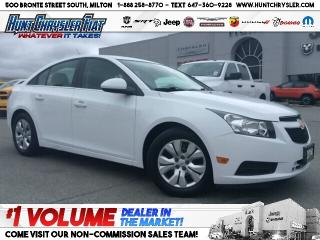 Used 2014 Chevrolet Cruze 1LT | 4CYL | AUTO | BT | PWR ST & MORE!!! for sale in Milton, ON