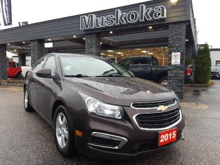 Used 2015 Chevrolet Cruze LT 2LT for sale in Bracebridge, ON