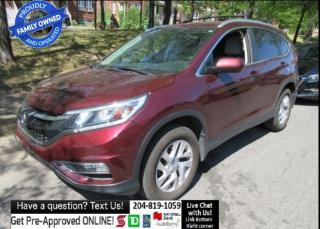 Used 2015 Honda CR-V EX SUNROOF bluetooth BACKCAM push start HTD SEAT for sale in Winnipeg, MB