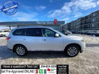 Used 2014 Nissan Pathfinder SL LEATHER HTD SEAT bluetooth BACKCAM push start for sale in Winnipeg, MB
