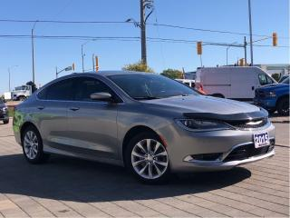 Used 2015 Chrysler 200 C**V6**Leather**Panoramic Sunroof** for sale in Mississauga, ON