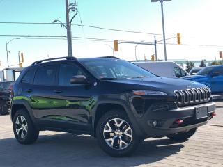 Used 2014 Jeep Cherokee Trailhawk**Leather**Panoroof**NAV for sale in Mississauga, ON