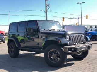 Used 2017 Jeep Wrangler Unlimited Sahara**4X4**75TH Anniversary**Leather**NAV for sale in Mississauga, ON