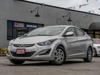 Used 2015 Hyundai Elantra 4DR SDN for sale in Oakville, ON