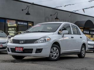Used 2010 Nissan Versa 4dr Sdn I4 1.6 for sale in Oakville, ON