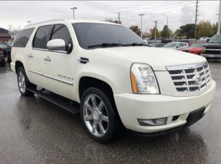 Used 2008 Cadillac Escalade ESV AWD 4DR for sale in Barrie, ON