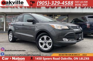 Used 2016 Ford Escape SE | HTD SEATS | BACKUP CAMERA | BLUETOOTH for sale in Oakville, ON