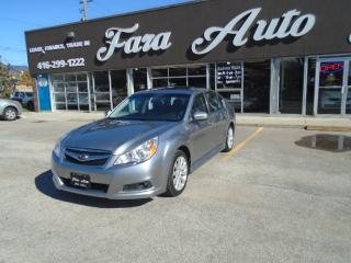 Used 2011 Subaru Legacy AWD  2.5i PREMIUM @ SPORT PACKAGE for sale in Scarborough, ON