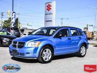 Used 2008 Dodge Caliber SXT ~Fog Lamps ~Alloy Wheels ~ONLY 89,000 KM! for sale in Barrie, ON