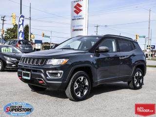 Used 2018 Jeep Compass Trailhawk 4x4 ~Heated Seats/Wheel ~Nav ~Backup Cam for sale in Barrie, ON