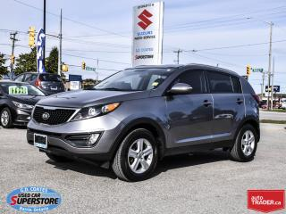Used 2016 Kia Sportage LX ~Heated Seats ~Bluetooth ~Fog Lamps ~Alloys for sale in Barrie, ON