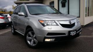 Used 2012 Acura MDX 6-Spd AT w/Tech Package - NAV! BACK-UP CAM! BSM! DVD! for sale in Kitchener, ON