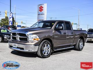 Used 2010 Dodge Ram 1500 SLT Quad Cab 4x4 ~Trailer Tow Package ~Power Seat for sale in Barrie, ON
