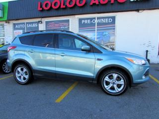 Used 2013 Ford Escape SE FWD AUTO LEATHER BLUETOOTH CERTIFIED for sale in Milton, ON