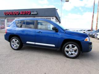 Used 2010 Jeep Compass LIMITED 4WD LEATHER SUNROOF CERTIFIED 2YR WARRANTY for sale in Milton, ON