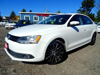 Used 2014 Volkswagen Jetta Highline 1.8T Navi Back-up Cam Leather Sunroof Certified for sale in Guelph, ON