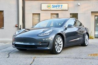 Used 2018 Tesla Model 3 LONG RANGE REAR WHEEL DRIVE AUTOPILOT, PREMIUM PKG, SPORT WHEELS for sale in Burlington, ON