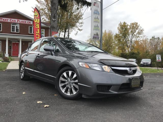 2011 Honda Civic EXL Leather-Power Roof-Power Window-Heated Seats-A/C-Cruise