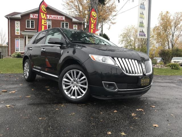 2014 Lincoln MKX AWD Chrome Wheels-AWD-Backup Camera-Leather-Pana Roof-Power Liftgate-NAV-Heated Wheel-Heated/Cooled Seats
