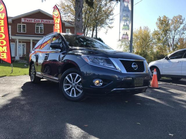 2015 Nissan Pathfinder SL 4WD 4WD-7 Pass-Power Liftgate-Pwr Seats-Htd Seats-Htd Wheel-Backup Camera-Alloys-Memory Seat