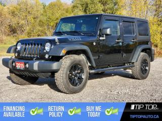 Used 2015 Jeep Wrangler UNLIMITED SPORT for sale in Bowmanville, ON