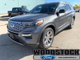 Used 2020 Ford Explorer Platinum  - Leather Seats for sale in Woodstock, ON