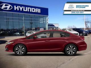Used 2014 Honda Civic Sedan LX - SUNROOF - LOCAL TRADE-IN  - $88 B/W for sale in Brantford, ON