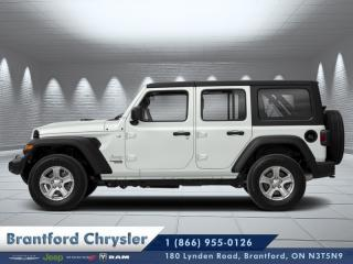 Used 2020 Jeep Wrangler Unlimited Sahara  - Leather Seats for sale in Brantford, ON
