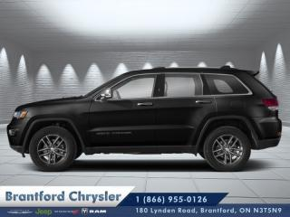 Used 2020 Jeep Grand Cherokee Limited  - Leather Seats for sale in Brantford, ON