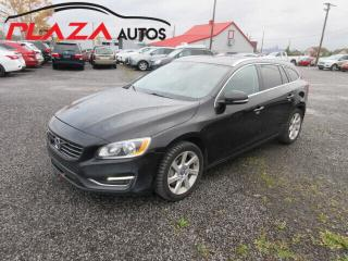 Used 2015 Volvo V60 4dr Wgn T5 Premier Plus AWD for sale in Beauport, QC