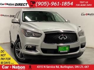 Used 2018 Infiniti QX60 AWD| SUNROOF| NAVI| for sale in Burlington, ON