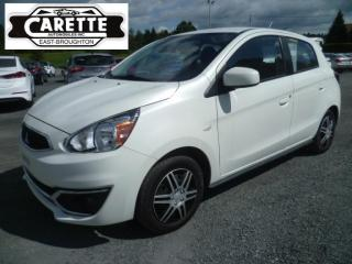 Used 2017 Mitsubishi Mirage for sale in East broughton, QC