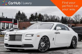 Used 2016 Rolls Royce Wraith Starlight_Headliner|Suicide_Doors|Keyless_Go|Navigation| for sale in Thornhill, ON