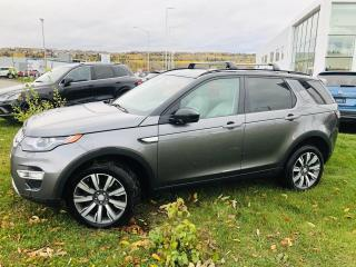 Used 2016 Land Rover Discovery Sport HSE LUXURY AWD Toit Cuir *RARE* for sale in Rivière-Du-Loup, QC