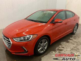 Used 2018 Hyundai Elantra GL Mags Caméra de recul Volant chauffant *Apple CarPlay et Android Auto* for sale in Trois-Rivières, QC