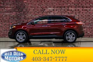 Used 2015 Ford Edge AWD Titanium Leather Nav BCam for sale in Red Deer, AB