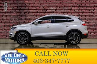 Used 2017 Lincoln MKC AWD Reserve Leather Roof Nav for sale in Red Deer, AB