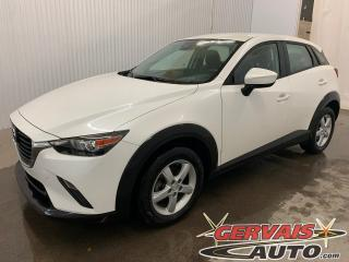 Used 2018 Mazda CX-3 GX GPS Mags Caméra de recul Bluetooth for sale in Shawinigan, QC