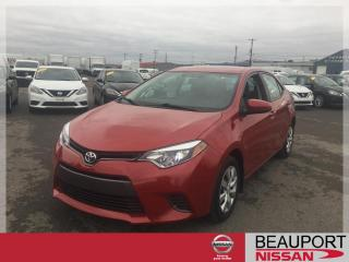 Used 2016 Toyota Corolla LE ***BALANCE GARANTIE*** for sale in Beauport, QC