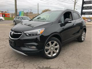 Used 2017 Buick Encore Premium | AWD | Nav | Leather | PanoRoof | for sale in St Catharines, ON