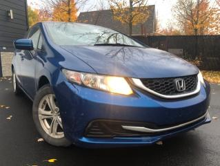Used 2014 Honda Civic 4 portes, boîte manuelle, LX for sale in Drummondville, QC