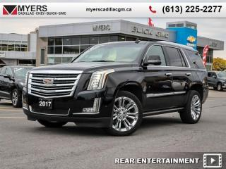 Used 2017 Cadillac Escalade Platinum  PLATINUM, AWD, MASSAGE SEATS, DVD, POWER STEPS, LOADED!!!! for sale in Ottawa, ON