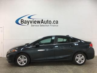 Used 2017 Chevrolet Cruze LT Auto - AUTO! ALLOYS! PWR GROUP! for sale in Belleville, ON