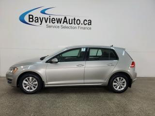 Used 2015 Volkswagen Golf 1.8 TSI Trendline - AUTO! ALLOYS! HTD SEATS! for sale in Belleville, ON
