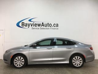 Used 2016 Chrysler 200 LX - PUSH START! A/C! CRUISE! ALLOYS! + MORE! for sale in Belleville, ON