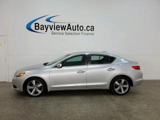 Used 2015 Acura ILX - PREMIUM PKG! HTD LEATHER! SUNROOF! AUTO! for sale in Belleville, ON