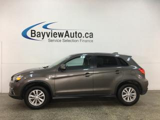 Used 2019 Mitsubishi RVR - AWD! HEATED SEATS! REVERSE CAM! ALLOYS! + MORE! for sale in Belleville, ON