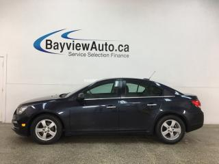 Used 2016 Chevrolet Cruze Limited 2LT - AUTO! ONSTAR! SUNROOF! HTD SEATS! + MUCH MORE! for sale in Belleville, ON