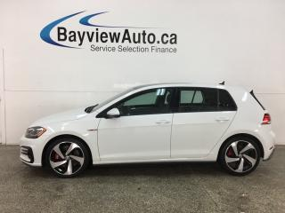Used 2018 Volkswagen Golf GTI 5-Door Autobahn - HTD LEATHER! NAV! MOONROOF! DSG! for sale in Belleville, ON